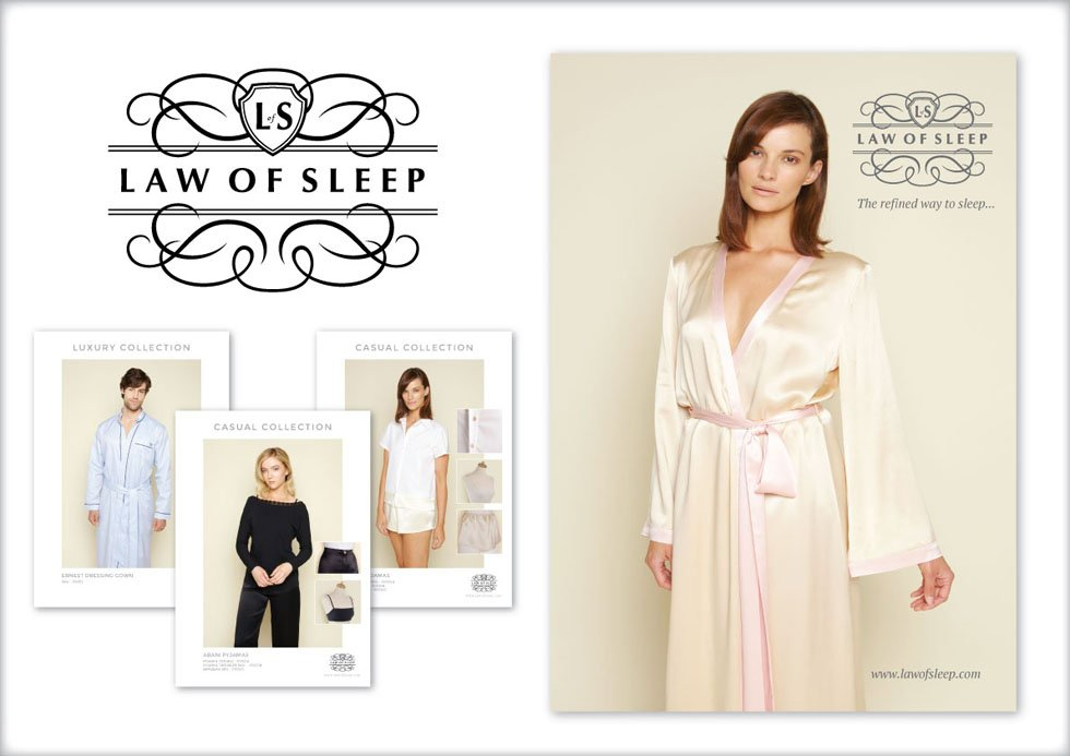 nightwear brand design