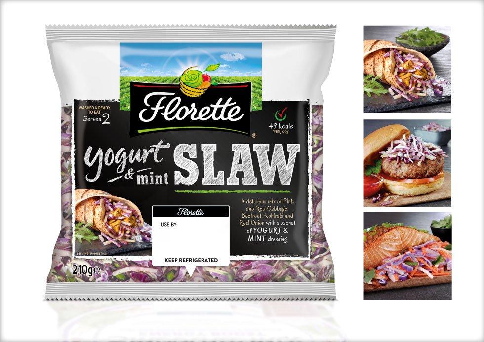 salad brand design