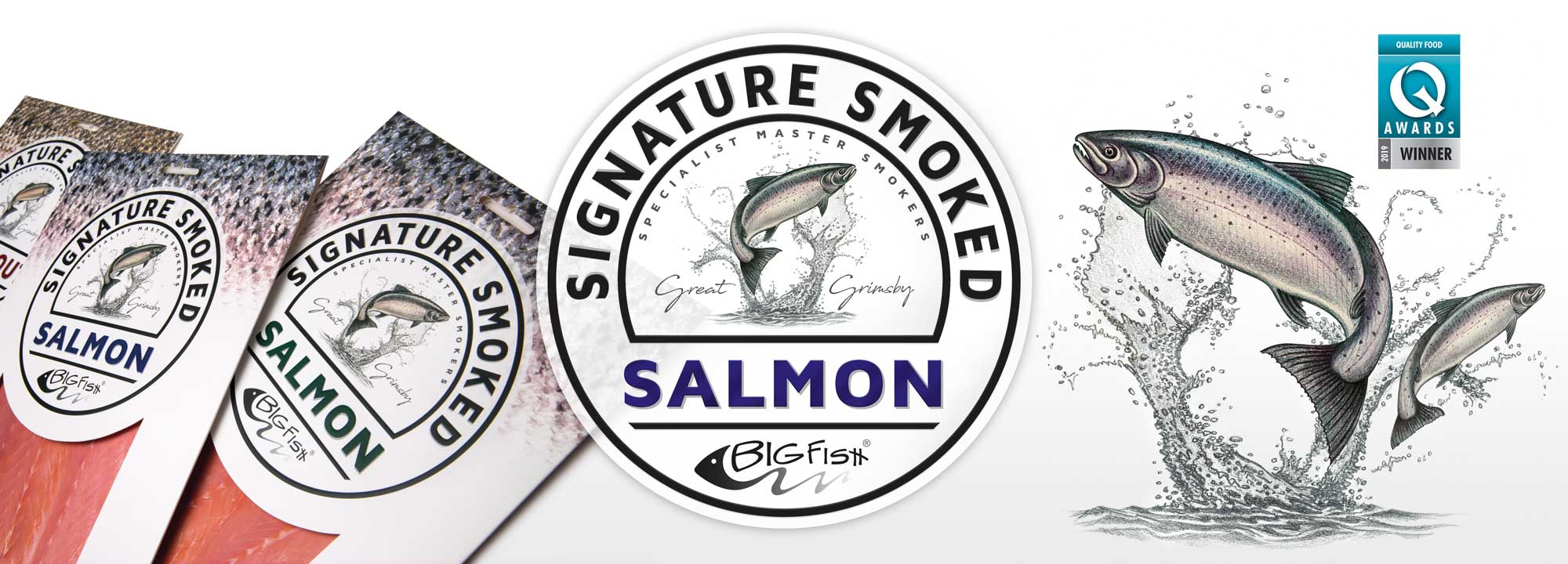 Scottish Smoked Salmon design